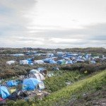 "30 octobre 2015 : La ""nouvelle jungle"", le camp de réfugiés  à Calais."