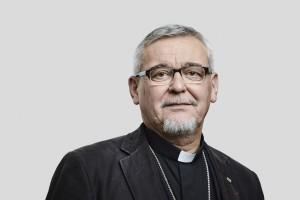 Mgr Georges COLOMB, évêque de La Rochelle et Saintes. France.
