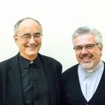 Michael Czerny, SJ, et Fabbio Baggio, cs, sous-secrétaires de la Section Migrants et Réfugiés.