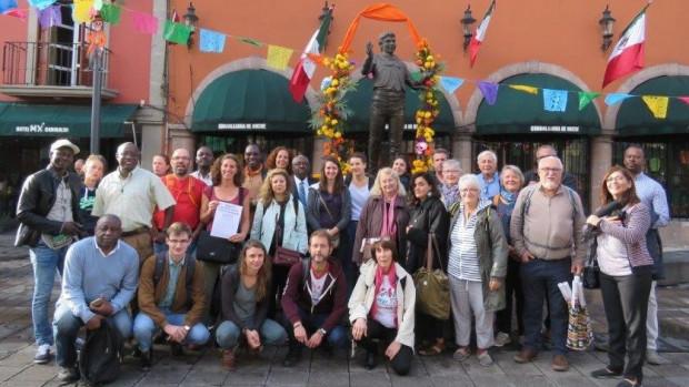 La délégation du CCFD-Terre Solidaire au Forum Social Mondial des Migrations (Mexico, 2-4 novembre 2018)