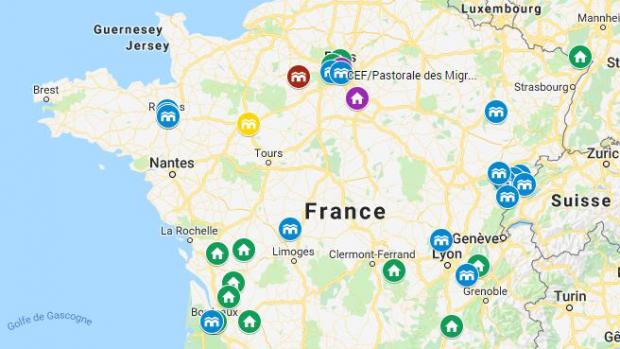 Fin 2018, on totalise 242 personnes  accueillies en France grâce aux Couloirs humanitaires.