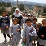 Des écoliers à Jericho, en Palestine.