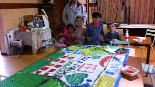 La Fraternité Georgette accueille une famille de migrants.