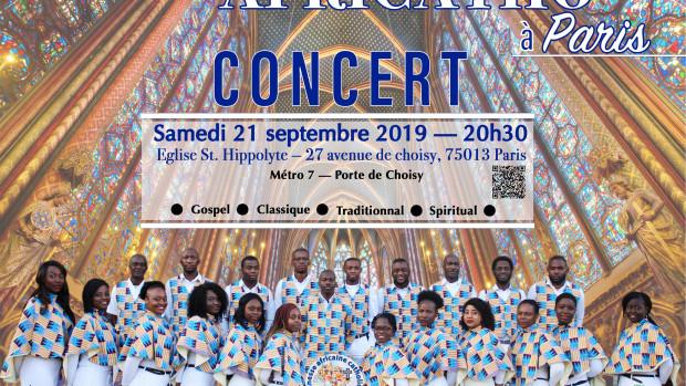 Concert à Paris.