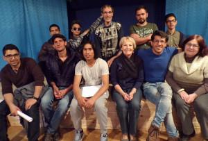 Le spectacle « Théâtre porte ouverte » a été joué pour la première fois en juin 2017, à Langres (52).