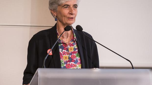 Véronique Fayet, Présidente nationale du Secours Catholique-Caritas France.