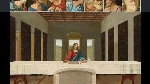 La Cène du Seigneur ou le Jeudi saint au temps du confinement.