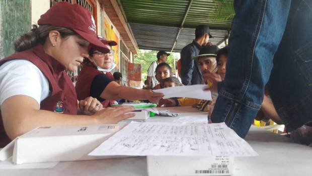 En 2019, 214.901 personnes migrantes ont été aidées, dans 15 municipalités à travers toute la Colombie par la Pastorale sociale/Caritas Colombie.