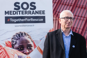 François Thomas est président de SOS MEDITERRANEE depuis juin 2019.